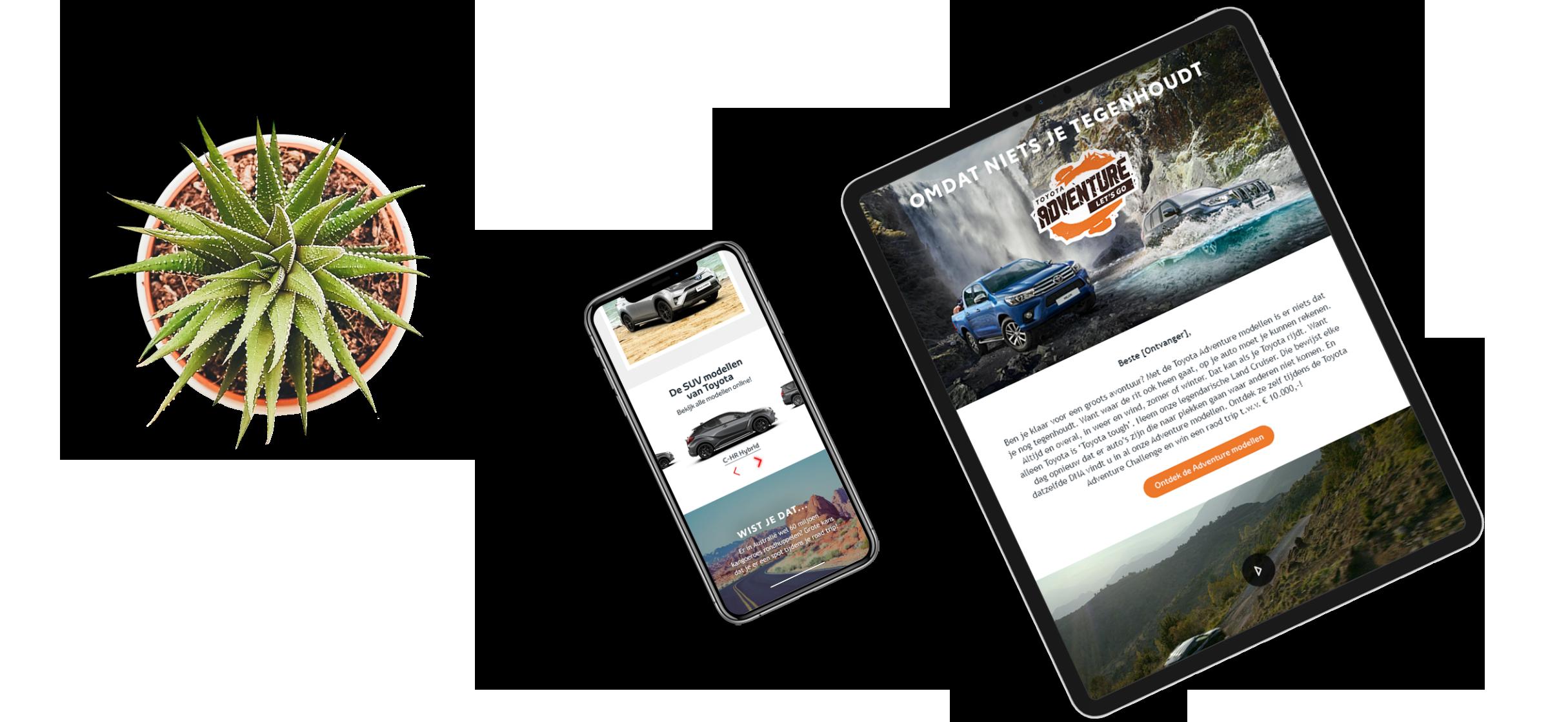 Communicatie Toyota Adventure | Brandpulse case
